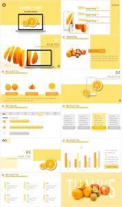 Orange Showtime Presentation Template 177x300 - Orange Showtime Presentation Template -