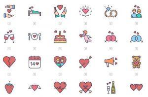 06 Minimal Design Valentines Day Icons Set 300x197 - 06-Minimal-Design-Valentines-Day-Icons-Set -