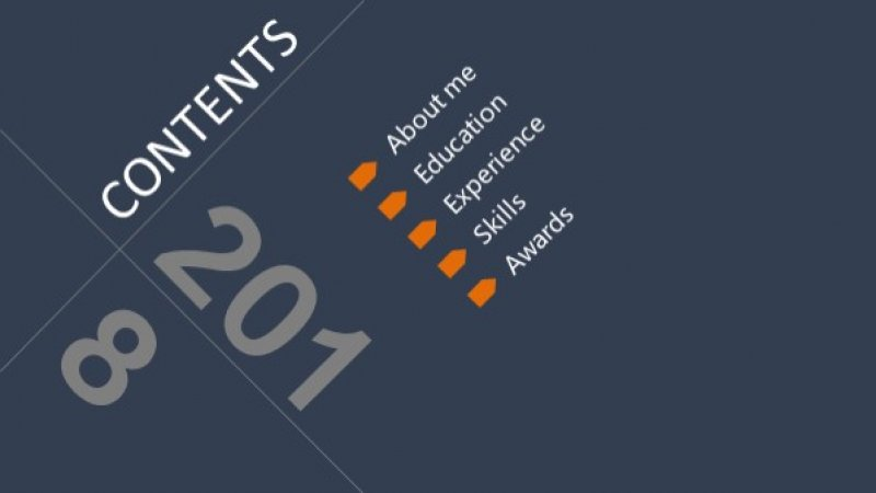 10 Best Free Orange Presentation Templates 2019 Just Free