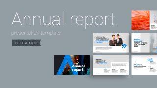 Annual report 320x180 - Annual Report Presentation Template - professional, modern, corporate, Business, Annual Report