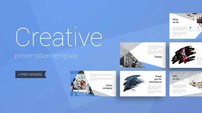 Creative 400x225 - Creative Presentation Template - modern, Creative, Business