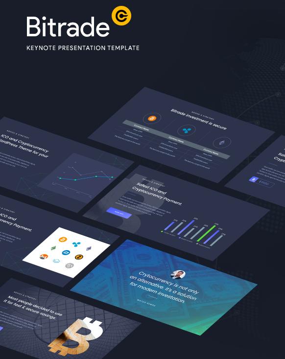 Cryptocurrency - Keynote Template Presentation