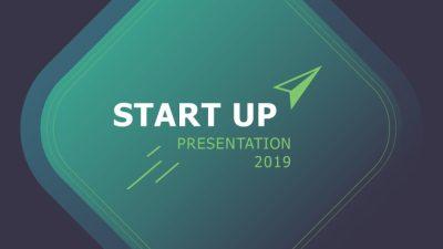 StartUp X presentation Template Deck 0 400x225 - StartUp-X presentation Template Deck - startup, puzzle slide, portfolio, business timeline, Business