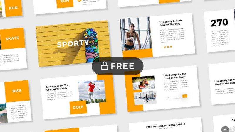 10 Best Free Yellow Presentation Templates 2019 Just Free