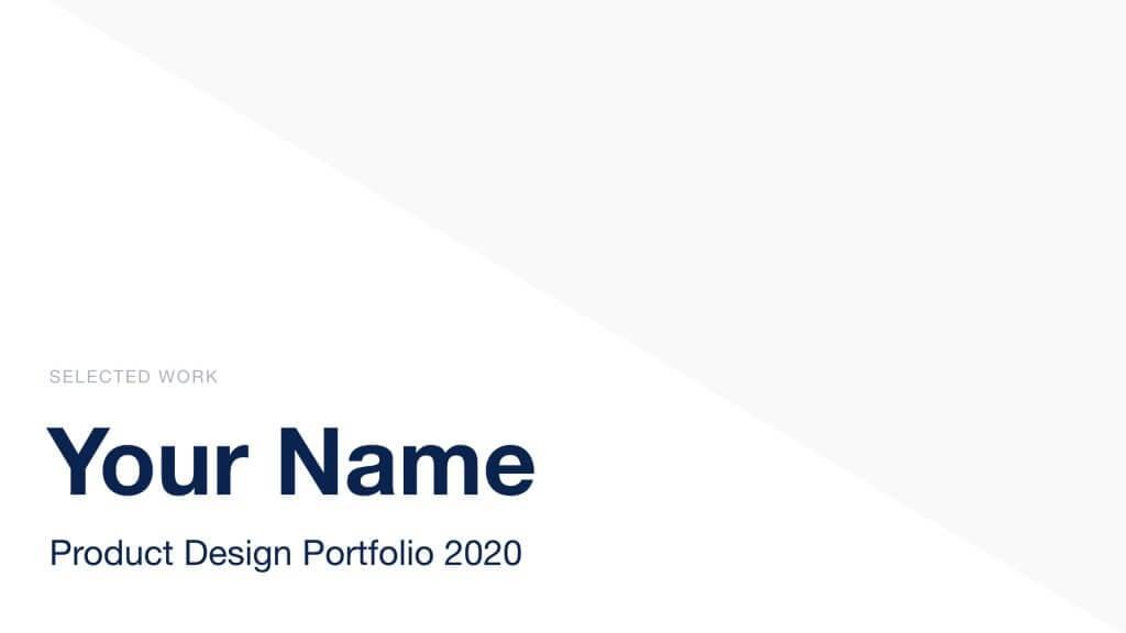 folio 2020.002 1024x576 - folio Free Keynote Portfolio Theme - Sketch, Portfolio, graphic design, Figma, Designer, design
