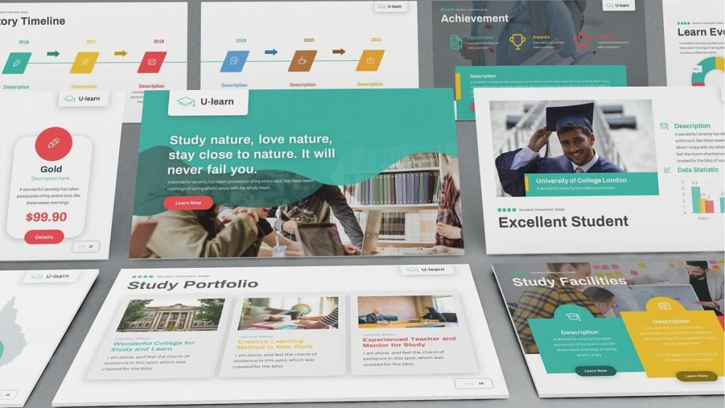 U-Learn - Academic PowerPoint Templates