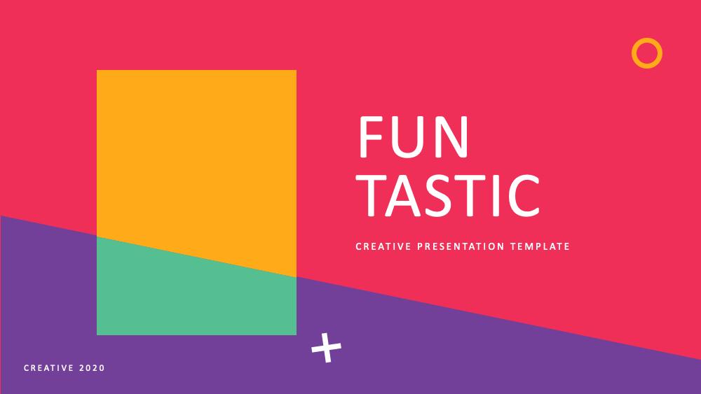 FUN Tastic Free Presentation Template1