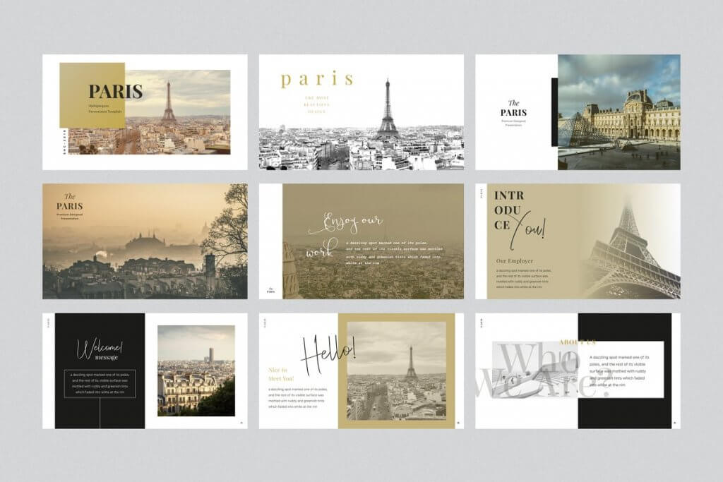 PARIS Free Keynote Template 1