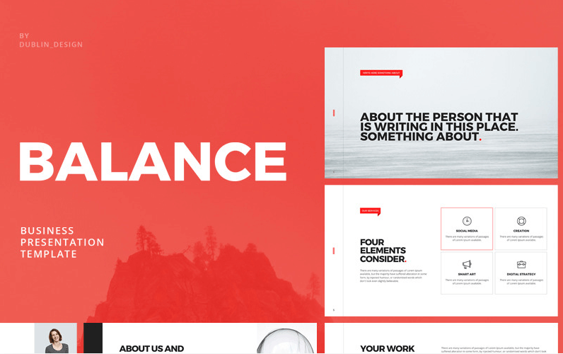 Balance - Business Promo Keynote Template