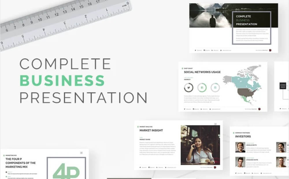Complete Business Presentation Keynote Template