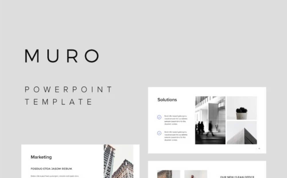 MURO - PowerPoint Template