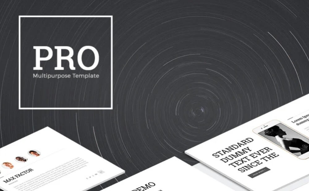 PRO Multipurpose PowerPoint Template