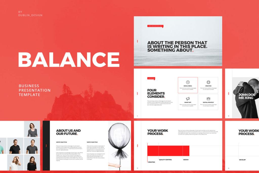 Balance Keynote Template