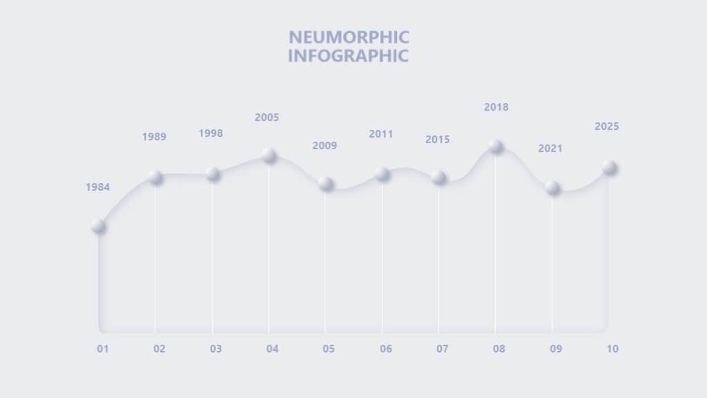 Neumorphic Powerpoint Presentation 3