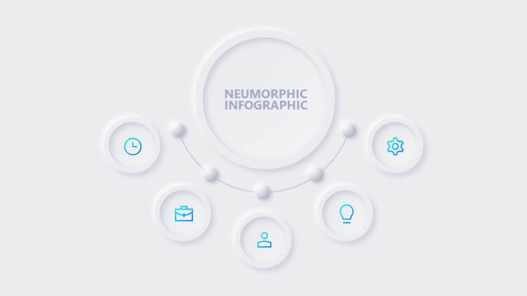 Neumorphic Powerpoint Presentation 4