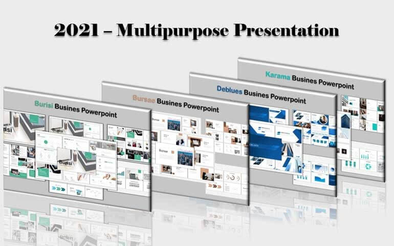 Multipurpose Bundle PowerPoint Template