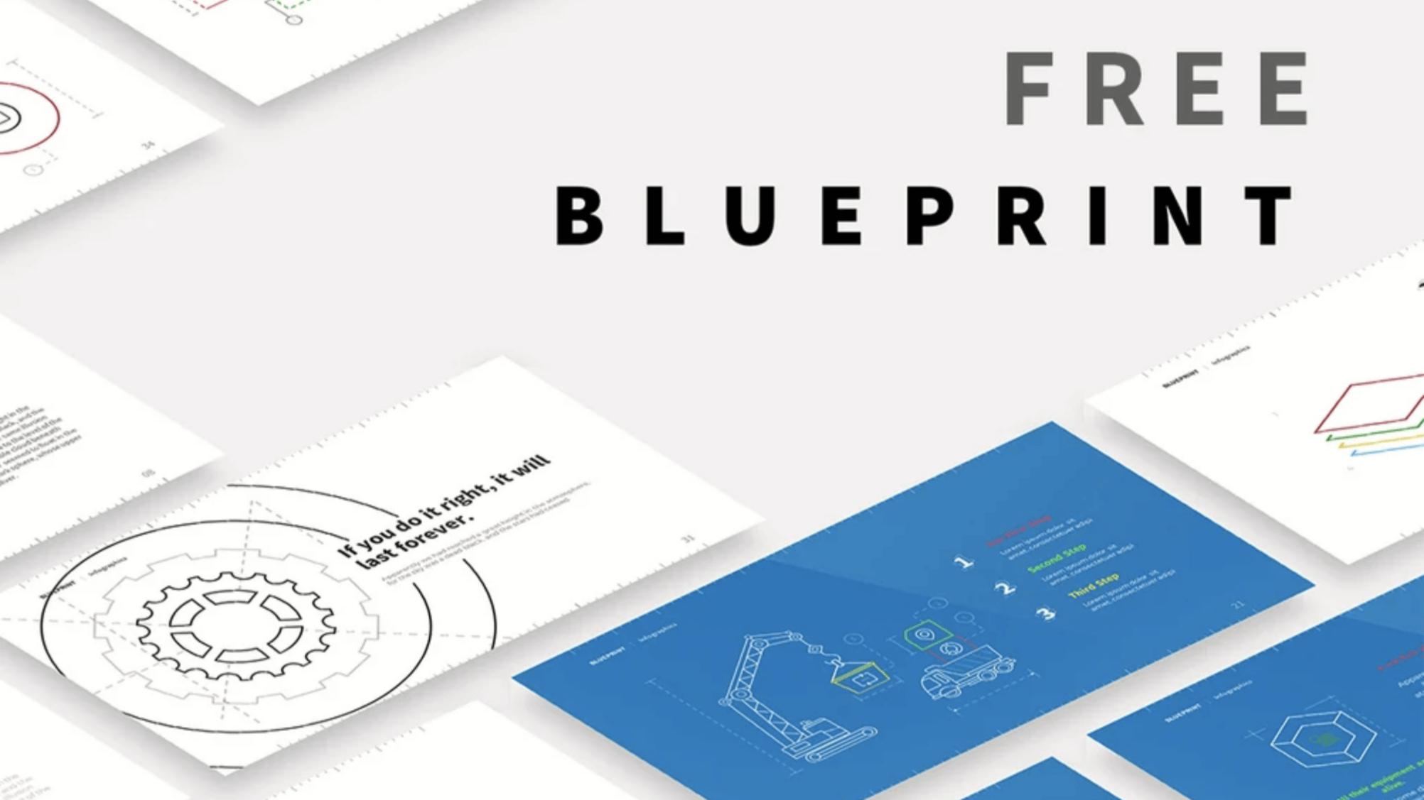 Free BLUEPRINT Presentation Template