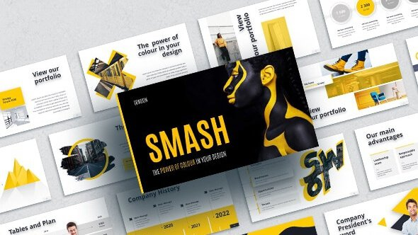 Free Smash Animated Template