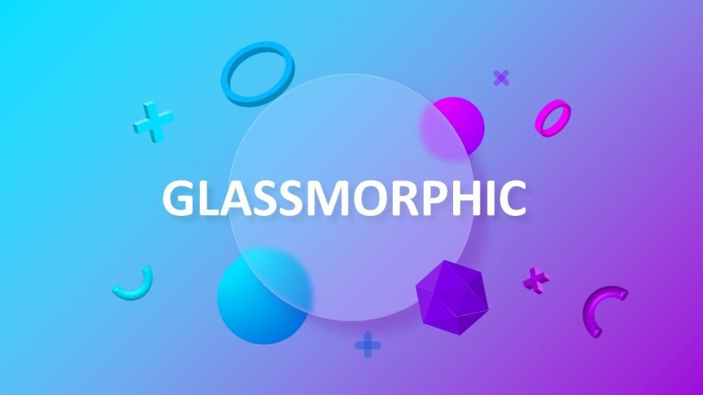 Glassmorphic Animated Presentation 1