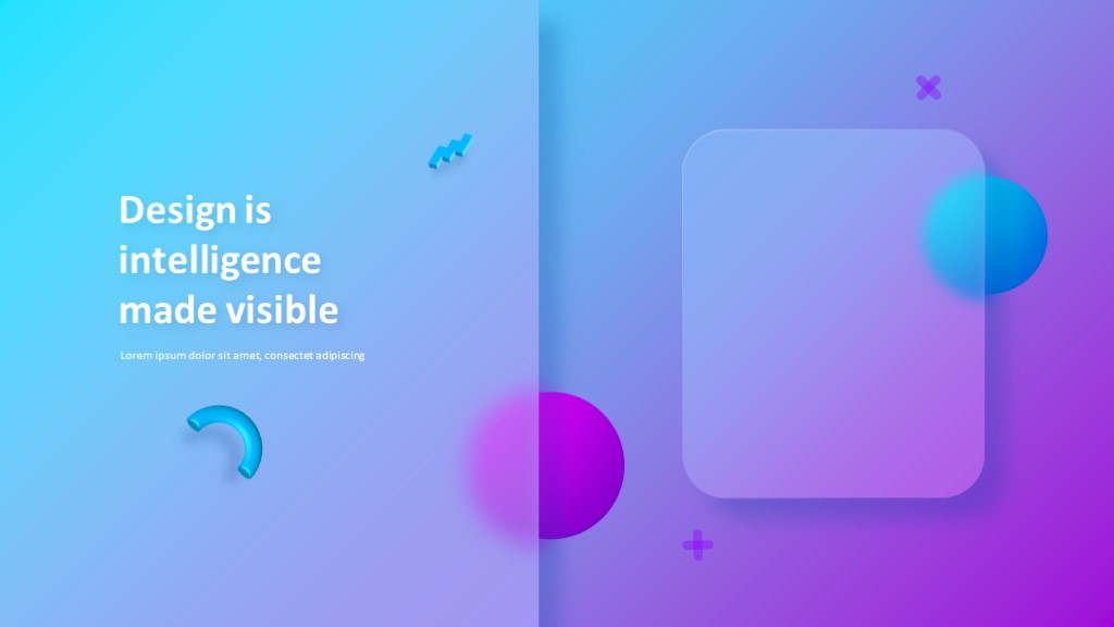 Glassmorphic Animated Presentation 6