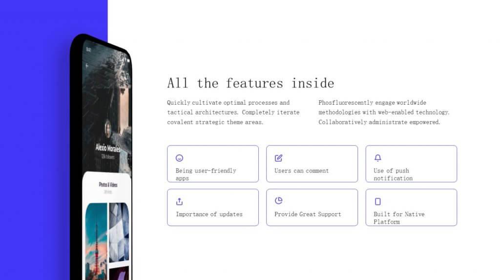 Selfone Creative Google Slides Template 11