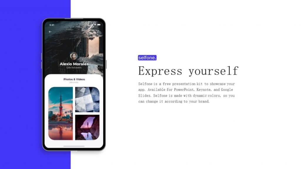 Selfone Creative Google Slides Template 2