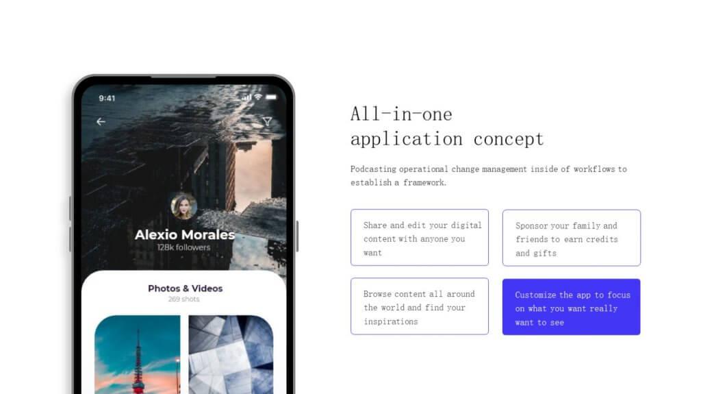 Selfone Creative Google Slides Template 20