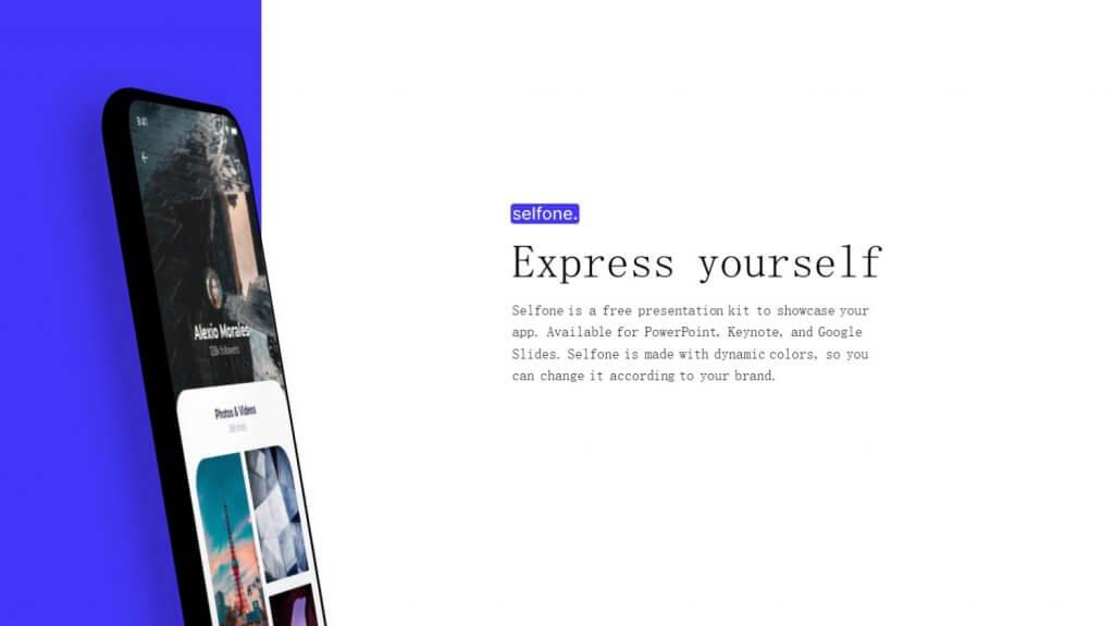 Selfone Creative Google Slides Template 3
