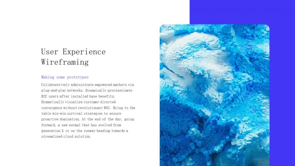 Selfone Creative Google Slides Template 7