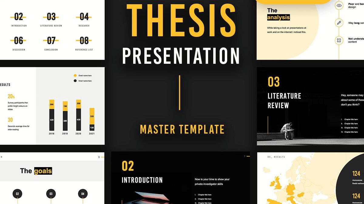 Rea – Free Thesis Defense PPT/Google Slides Presentation Template
