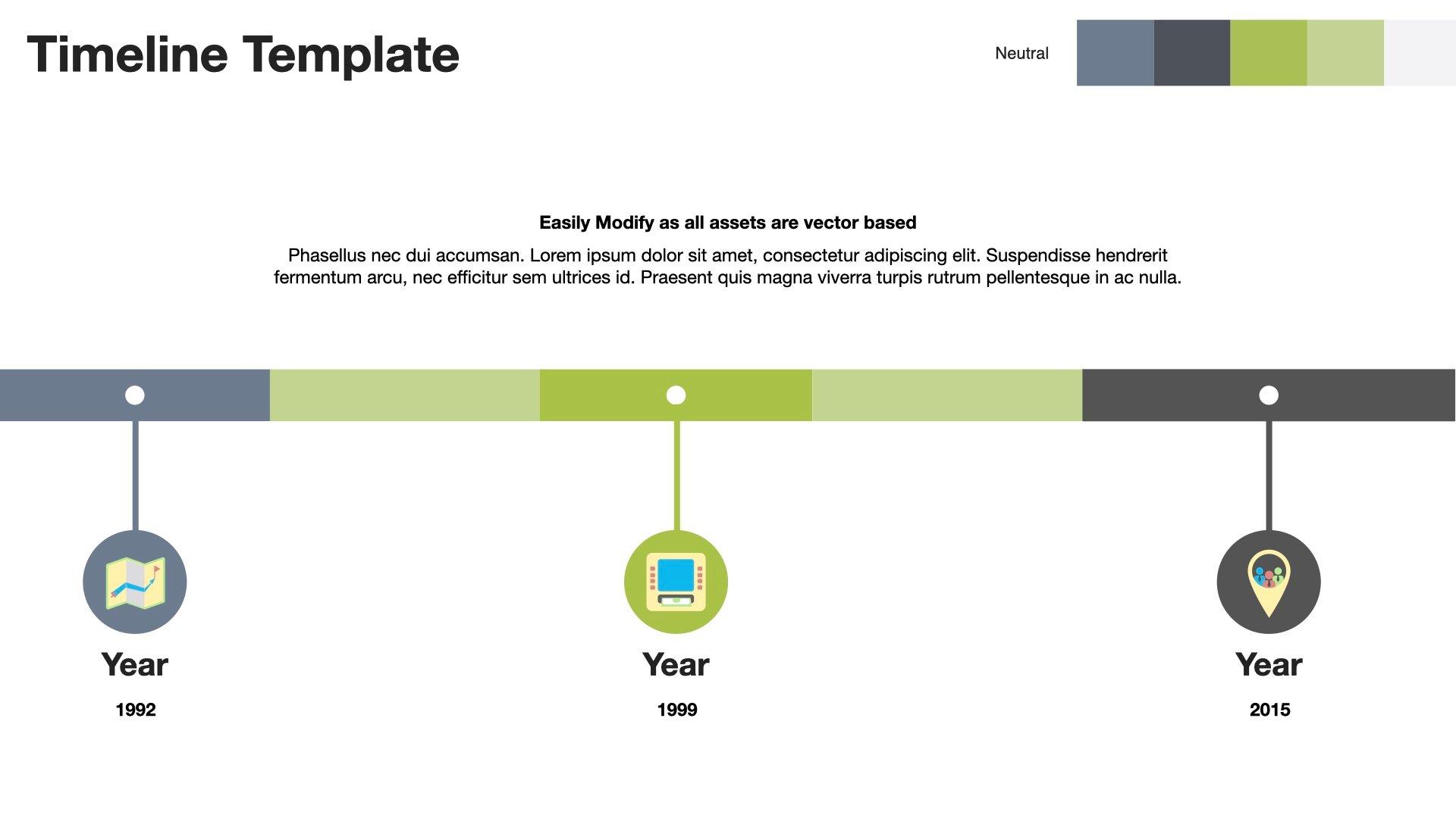 Free Apple Keynote Timeline Template Download