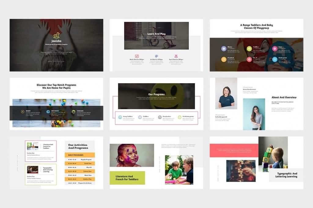 Javiska : Kindergarten Google Slides