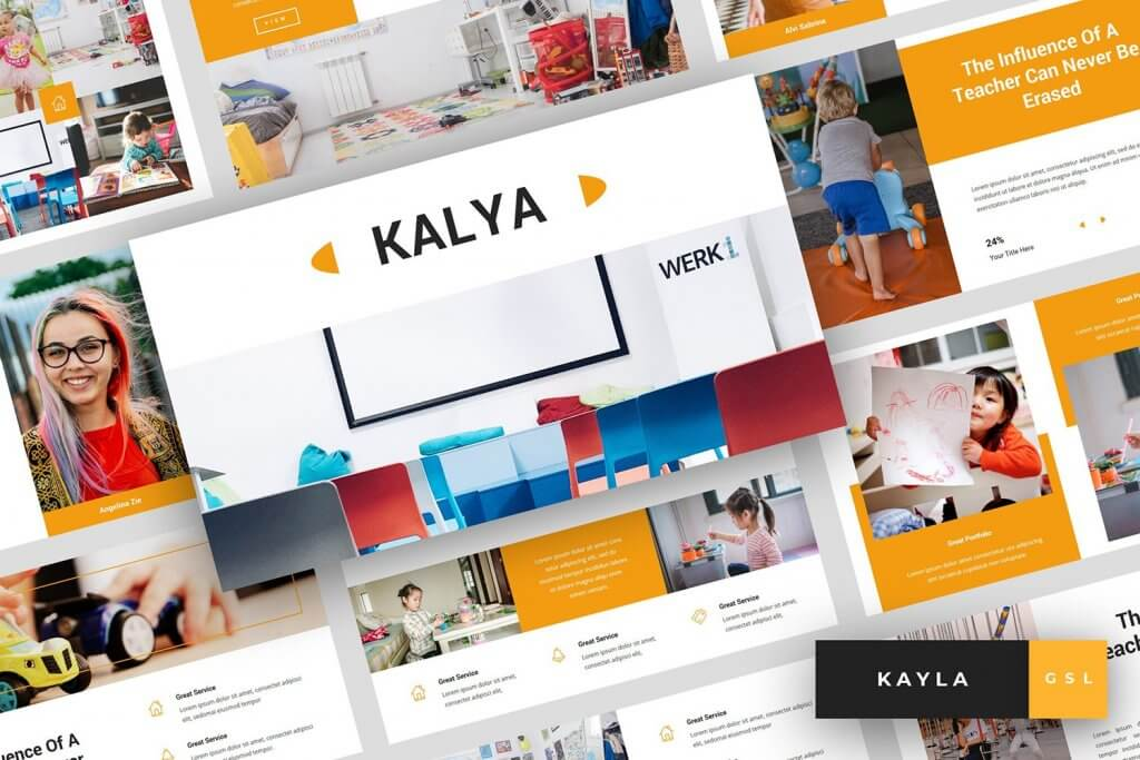 Kayla - Kindergarten Google Slides