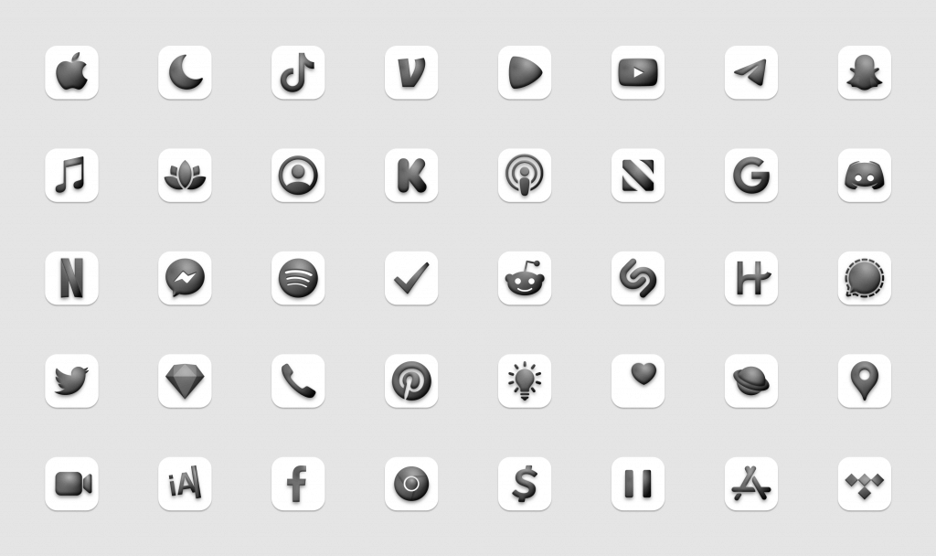 The Neumorphic Icon Collection 2