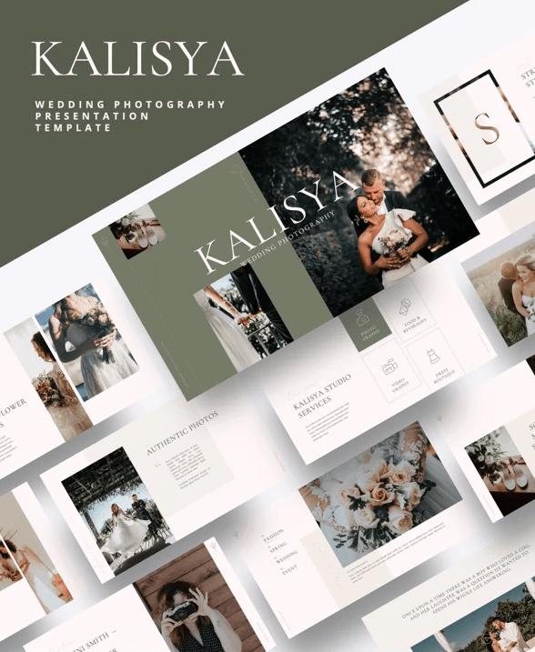 Kalisya - Wedding Photography Powerpoint Template