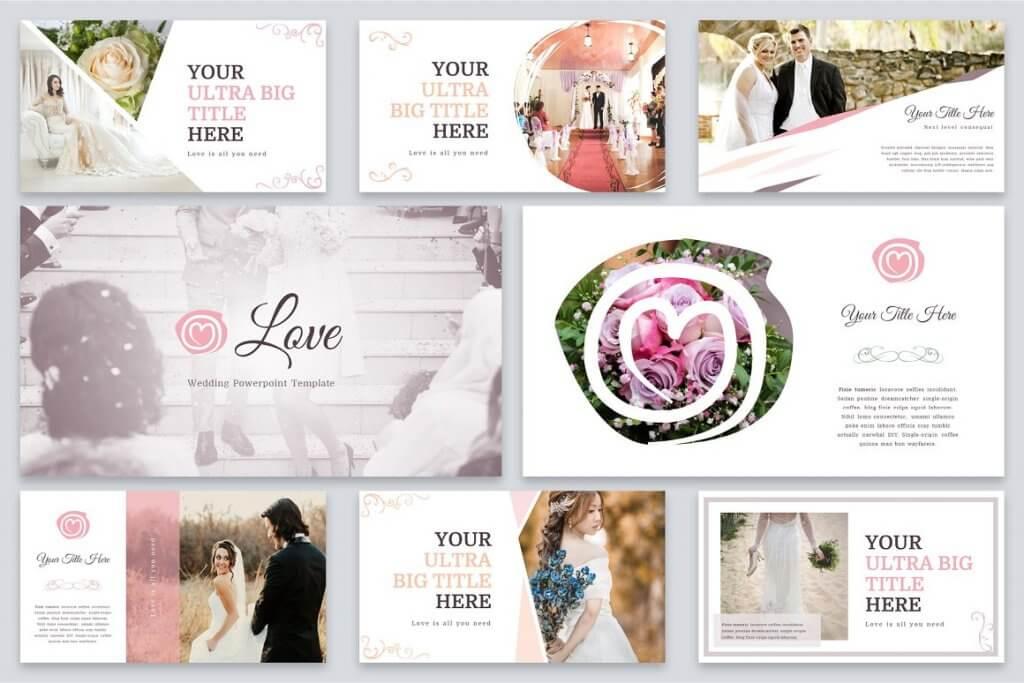Love - Wedding Powerpoint Template