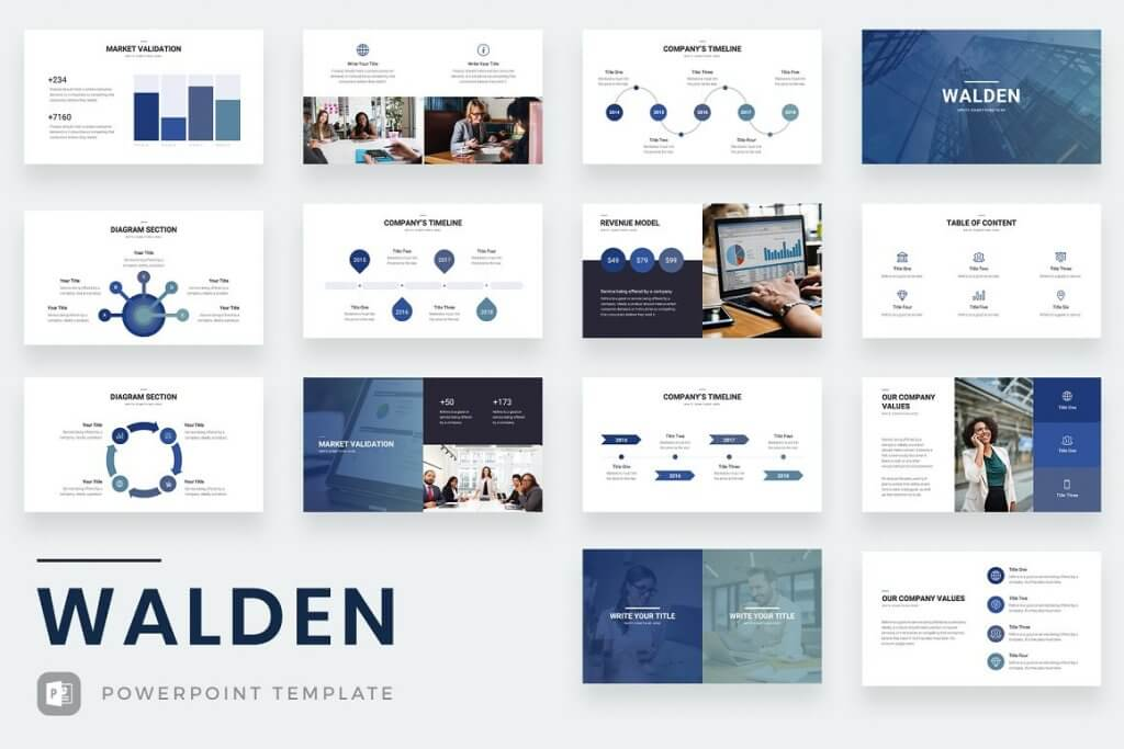 Walden PowerPoint Template