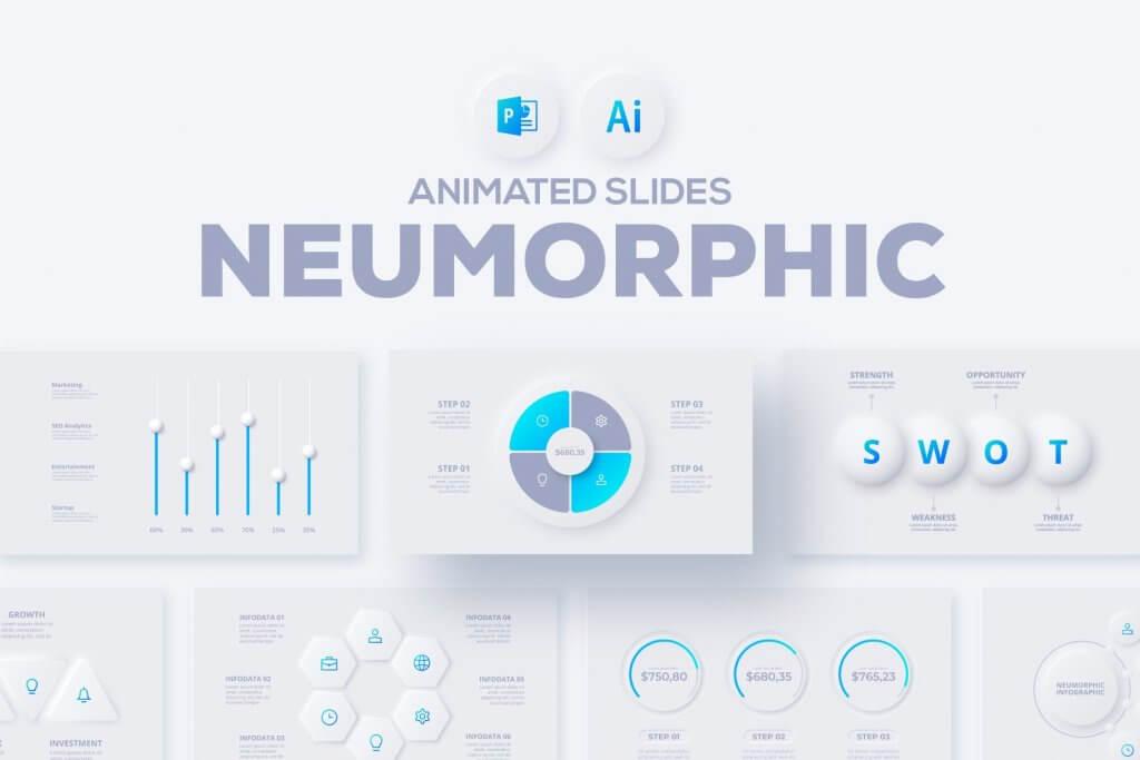 Neumorphic PowePoint Presentation